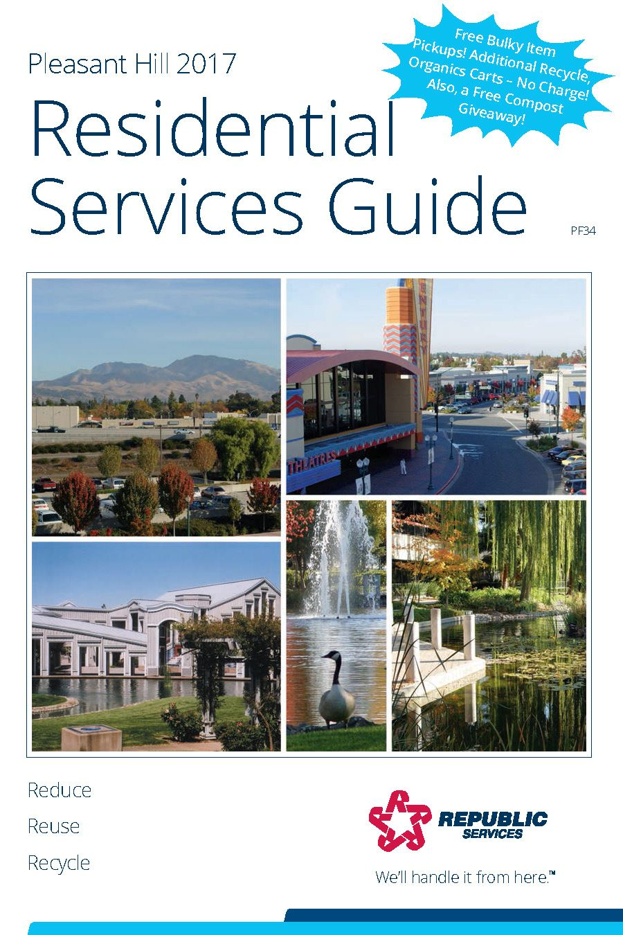 2017 Customer Service Guide Cover Page
