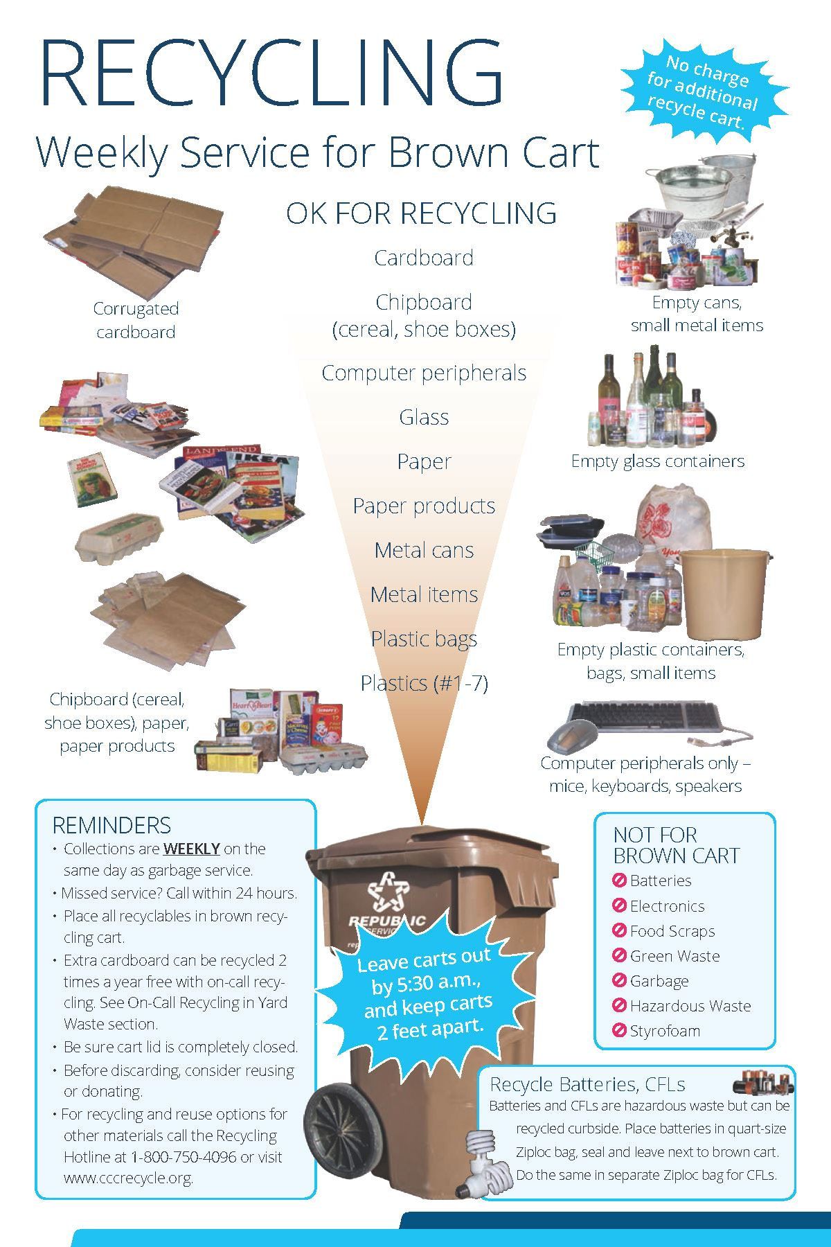 2017 Customer Service Guide Recycling Page