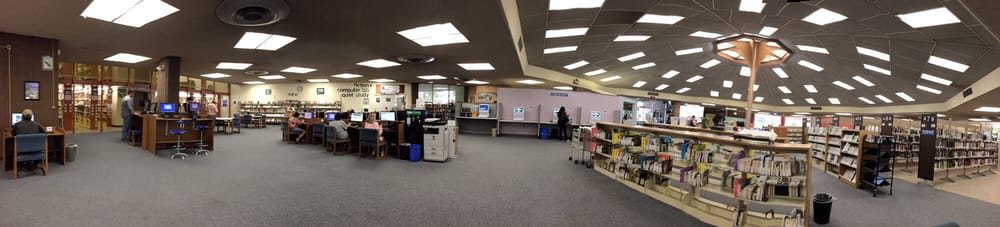 pleasant hill library interior panoramic