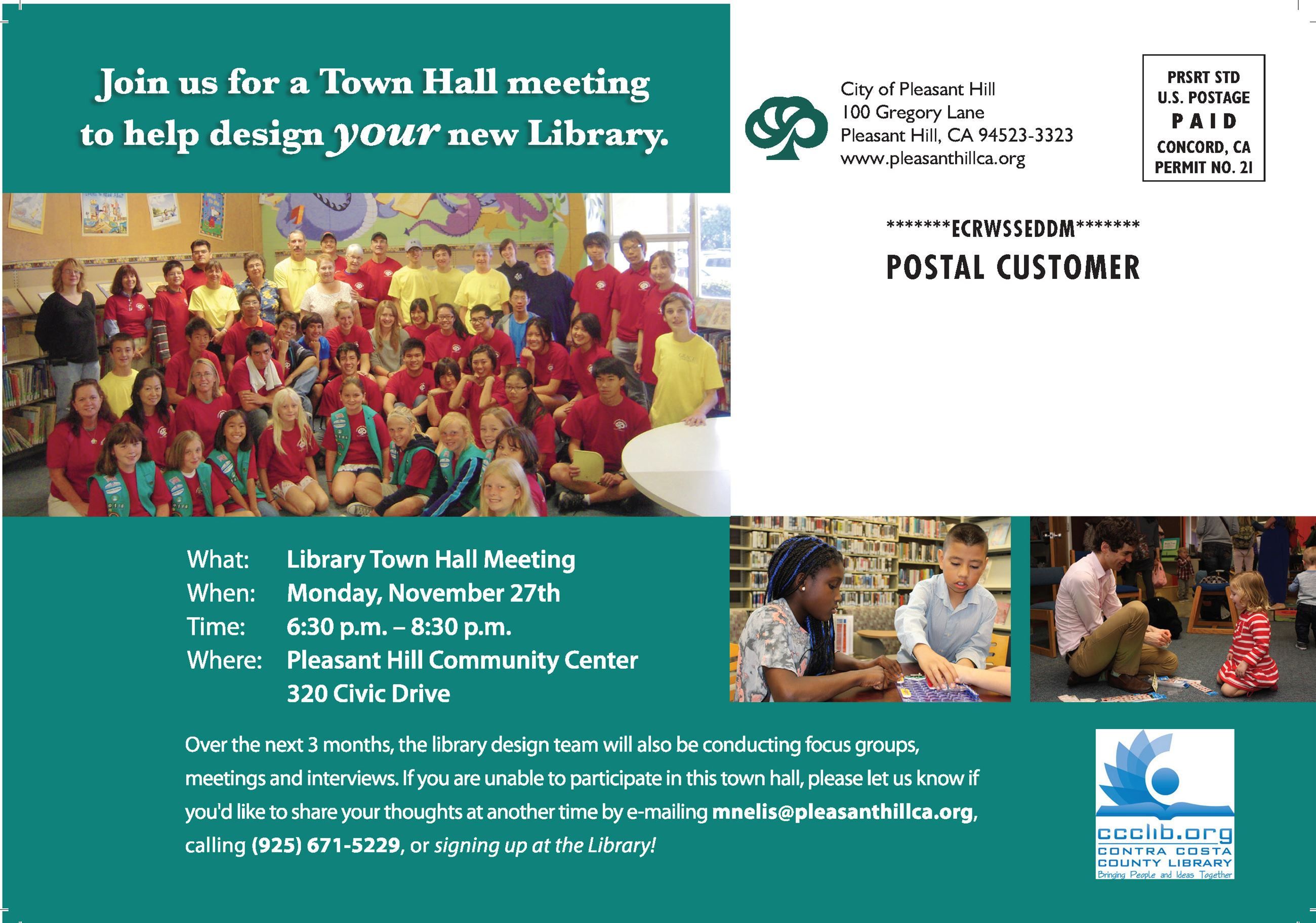 Library Town Hall November 2017 back