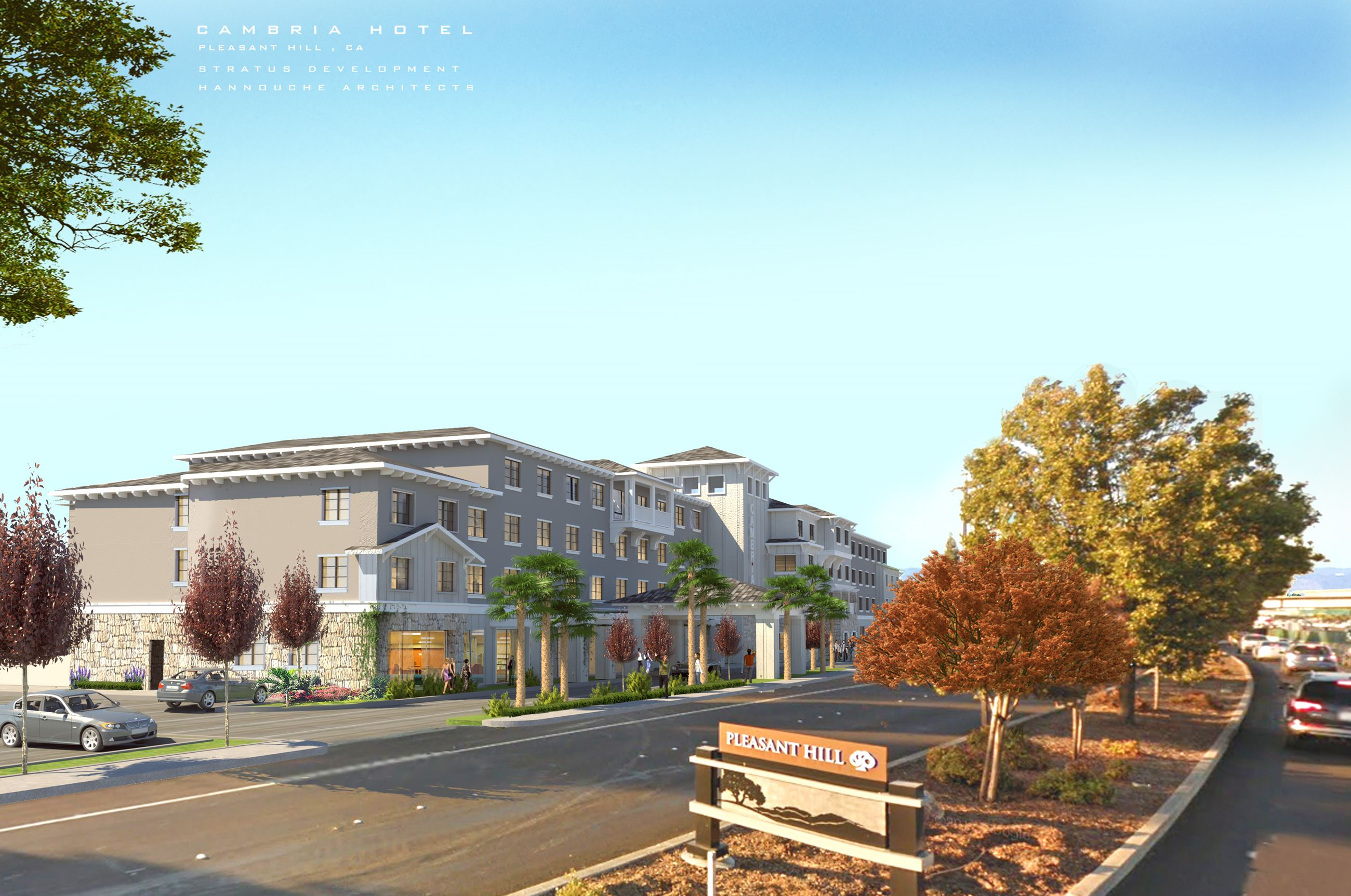 Pleasant Hill Cambria Rendering