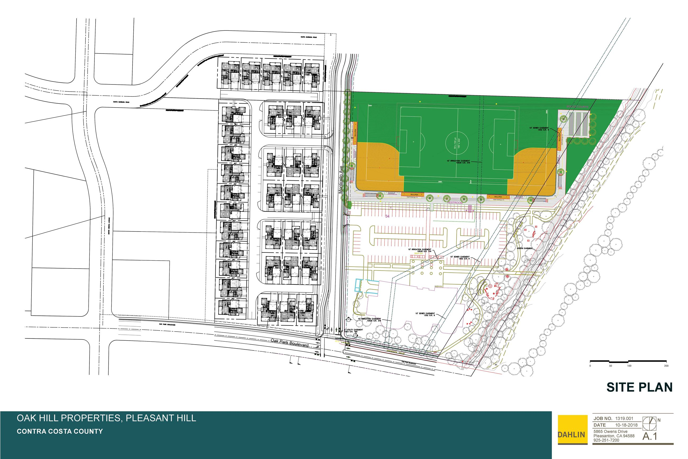 Site Plan for NOP