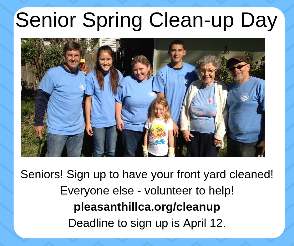 Senior Spring Clean-up Day