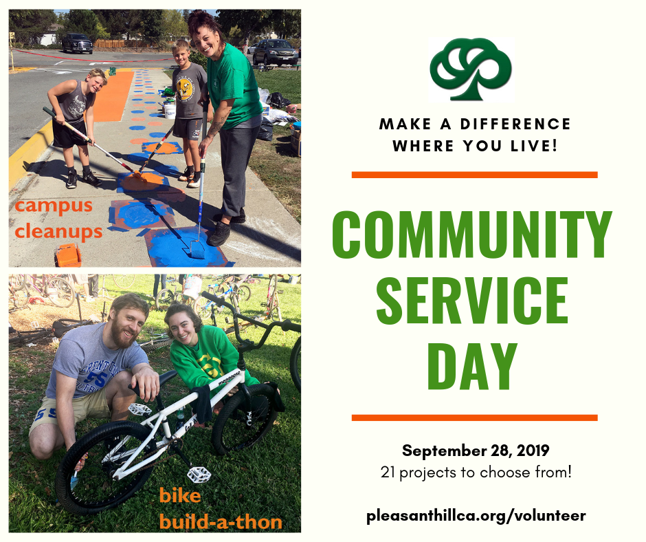Community Service Day 2019 promotion