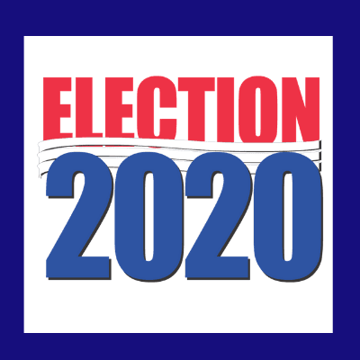 Election 2020 banner