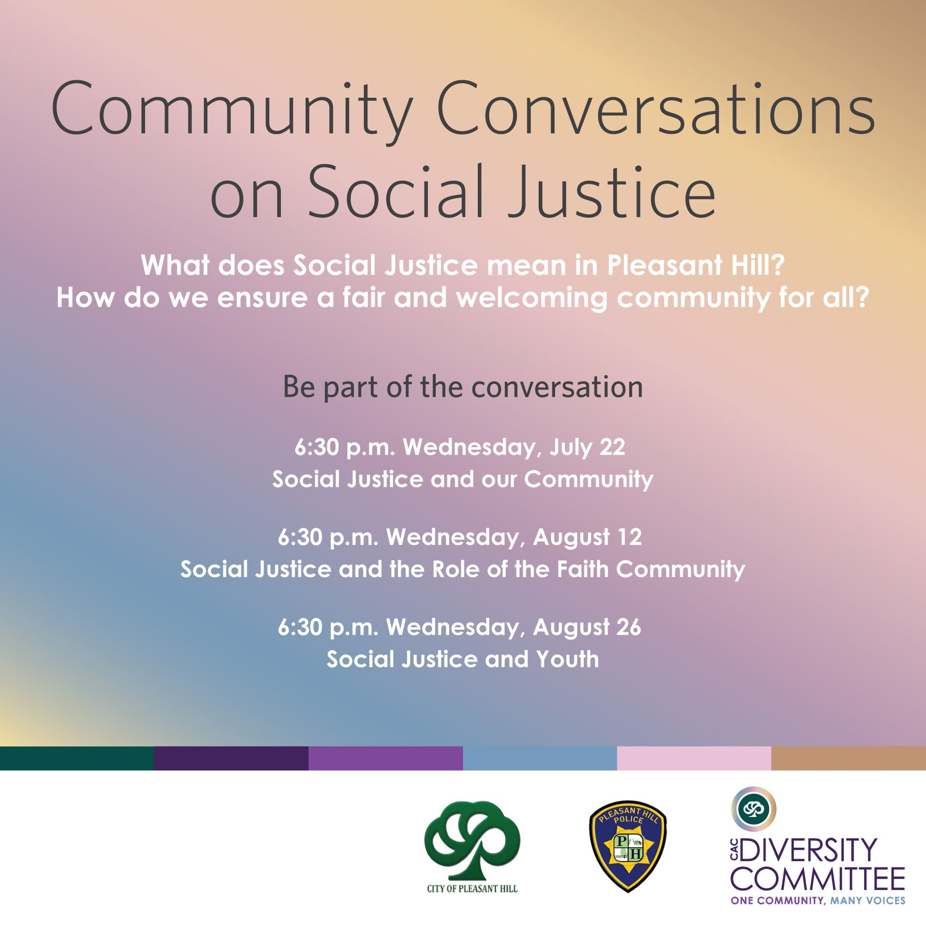 Community Conversations on Social Justice