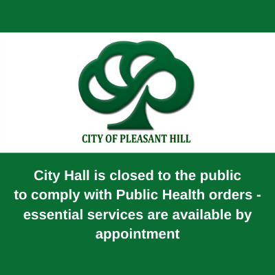 City Hall Closed to Public - website graphic