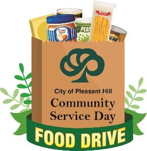 Community Service Day Food Drive logo